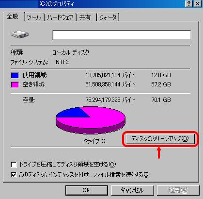 古いファイルを圧縮画像1
